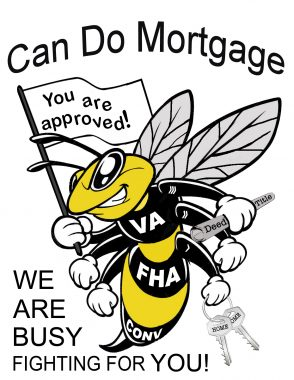 Bee logo can do mortgage chev